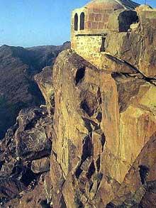 Таким был древний разрушенный Раифский монастырь