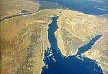 Синайский п-ов, граница Египта и Израиля. Здесь находился Раифский монастырь